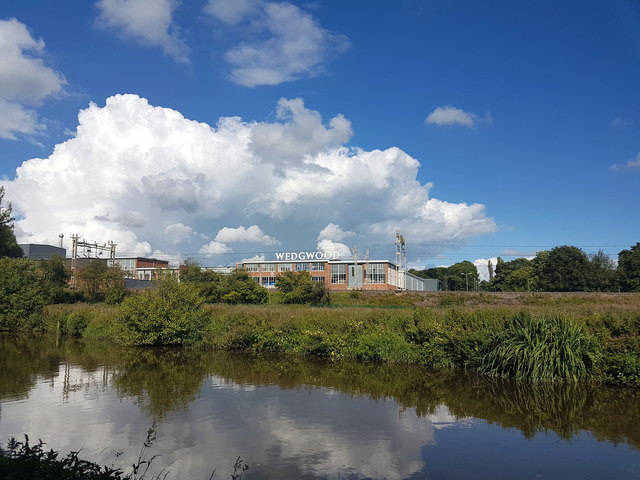 Wedgwood Factory, From The Trent Mersey Canal