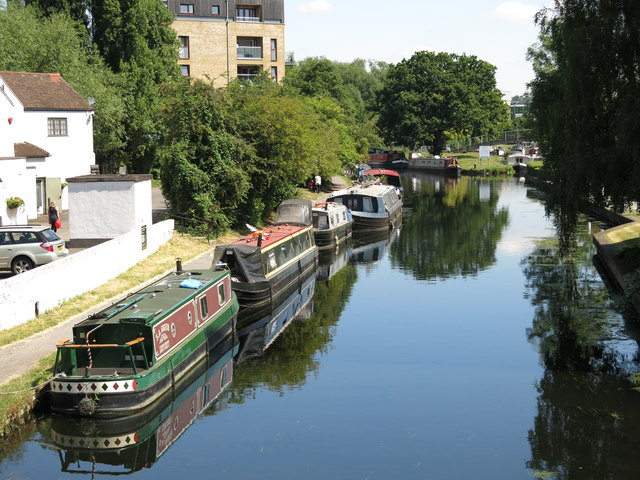 The Grand Union Canal, north of Oxford Road, Uxbridge