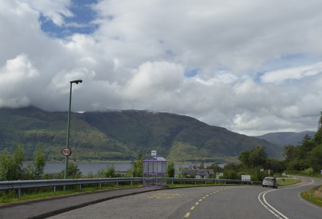 Bus stop by Corran Ferry