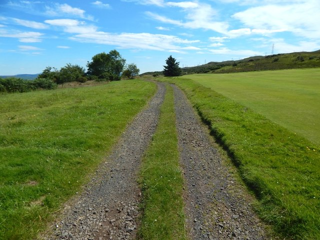 Track from Whinhill Reservoir