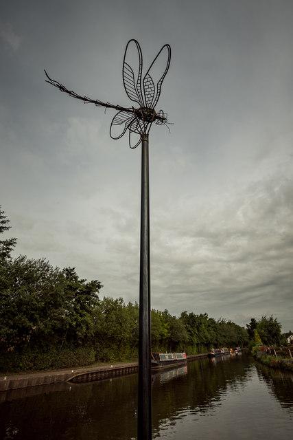 Dragon Fly Sculpture, Etruria
