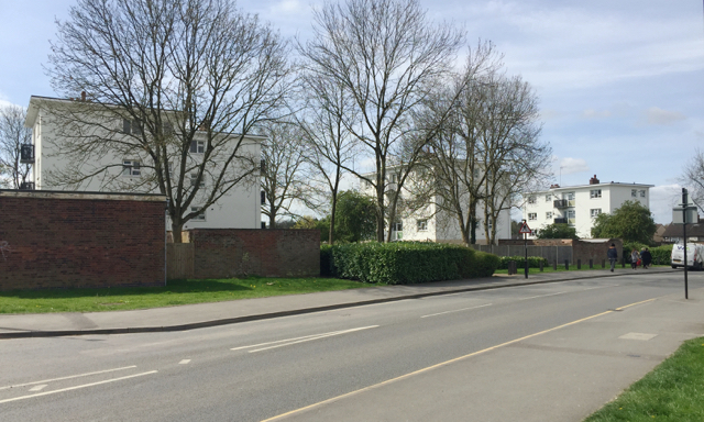 Three four-storey blocks of flats, Tile Hill North, western Coventry