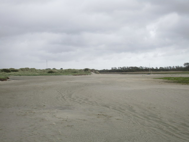 Swirling sands at The Spit