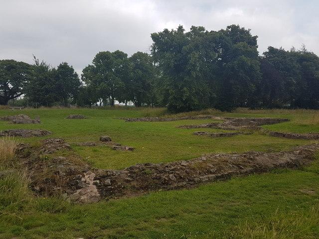 Hulton Abbey, Abbey Hulton