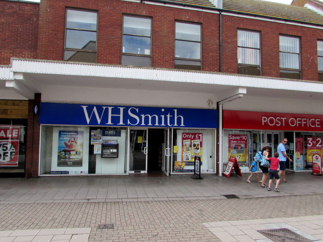WHSmith and Post Office in the Magnolia Centre, Exmouth