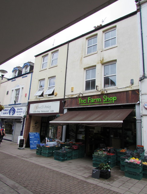 The Farm Shop in Exmouth town centre
