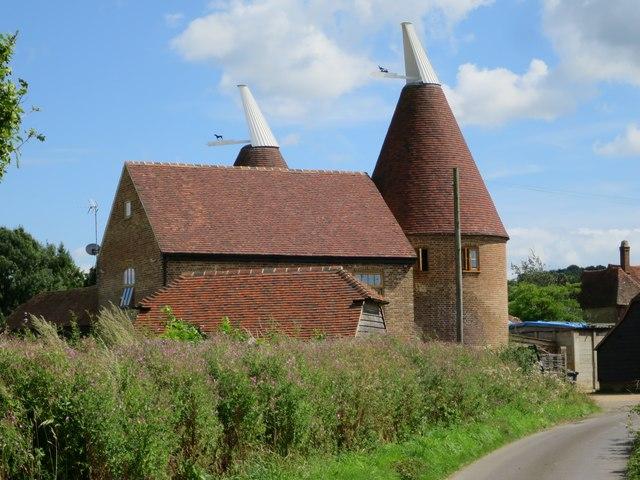 Oast House at Oast Farm, Lydens Lane, Hever