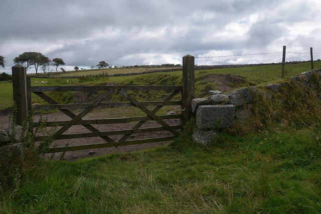 Princetown : Field & Gate