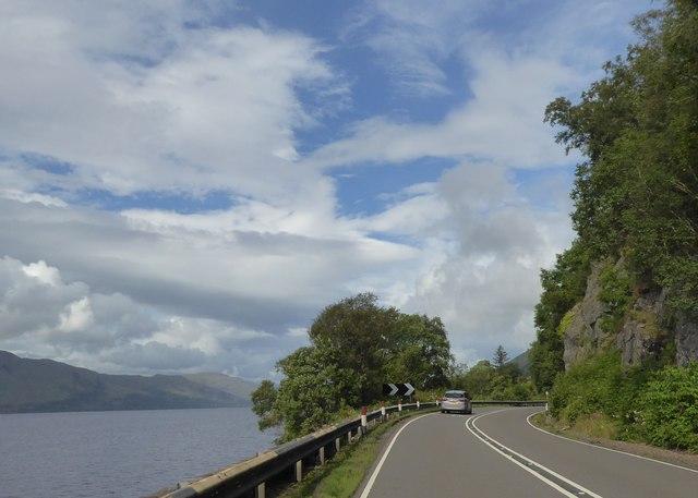 A82 by Loch Linnhe