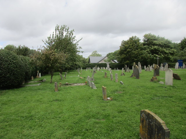 Churchyard and Church Hall, Fishbourne