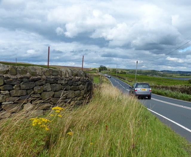 Otley Road near Weecher Reservoir