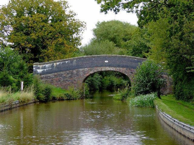 Stoneley Green Bridge in Cheshire