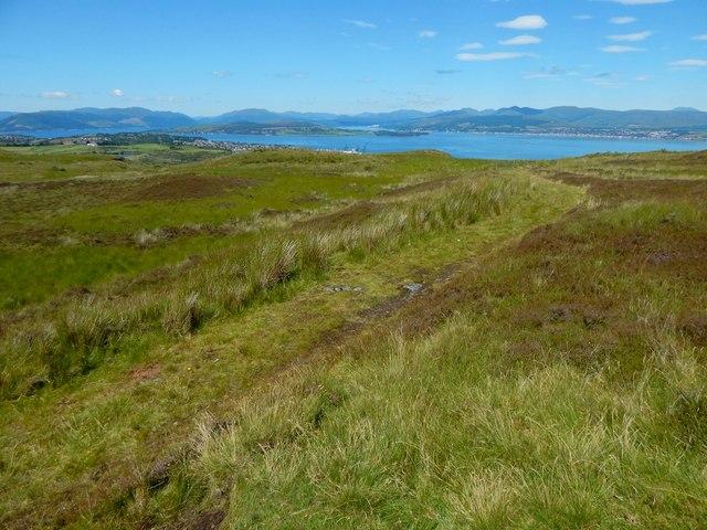 A track on Burnhead Moor