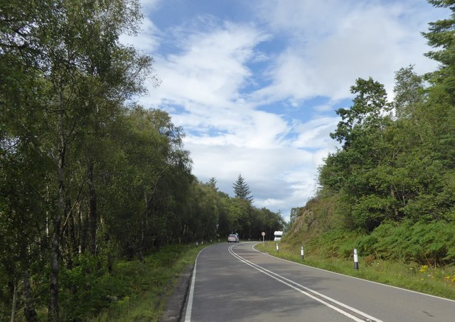 A82 south west of Corrychurrachan