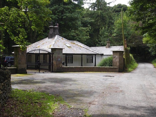 Front Lodge, Bodorgan Estate