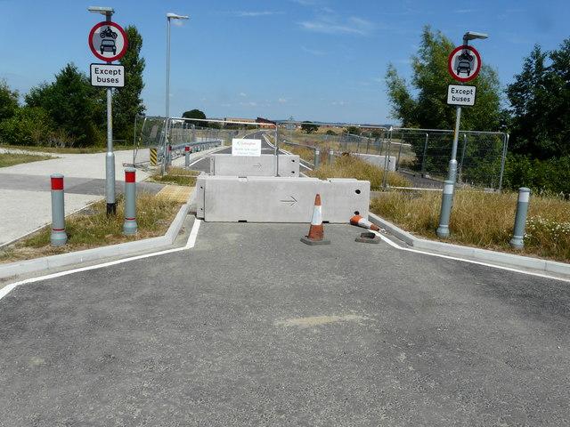 Northern link road (Damara Way)