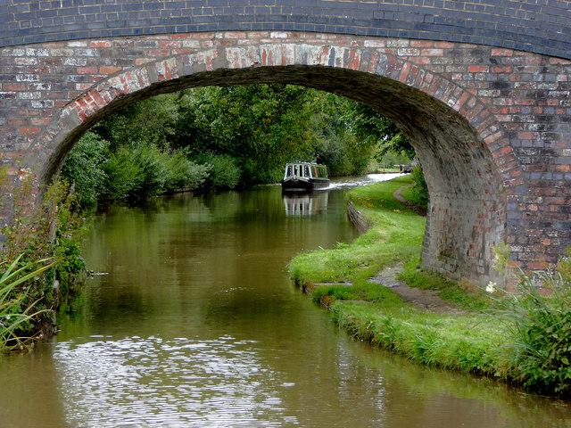 Llangollen Canal at Stoneley Green Bridge, Cheshire
