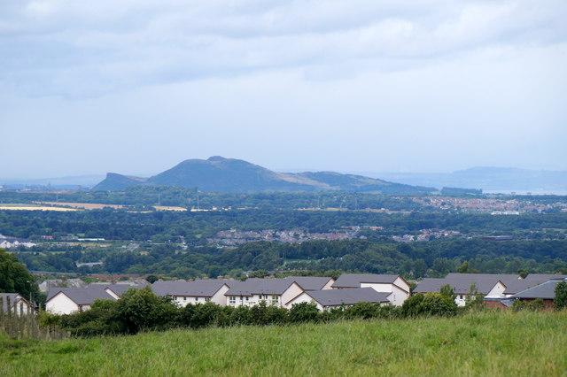 View to Arthur's Seat from Gorebridge