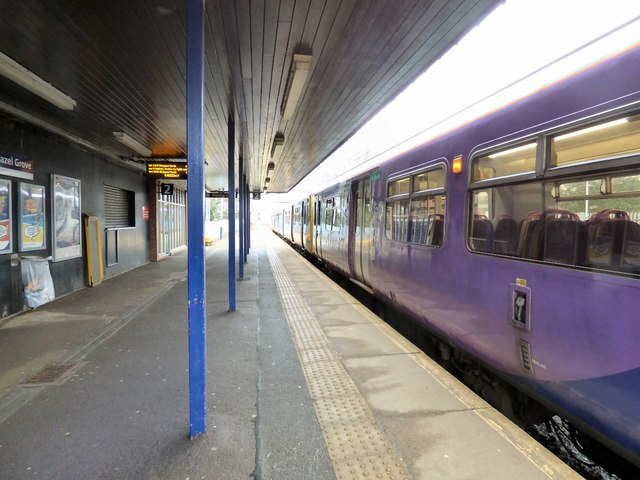 Hazel Grove platform 2