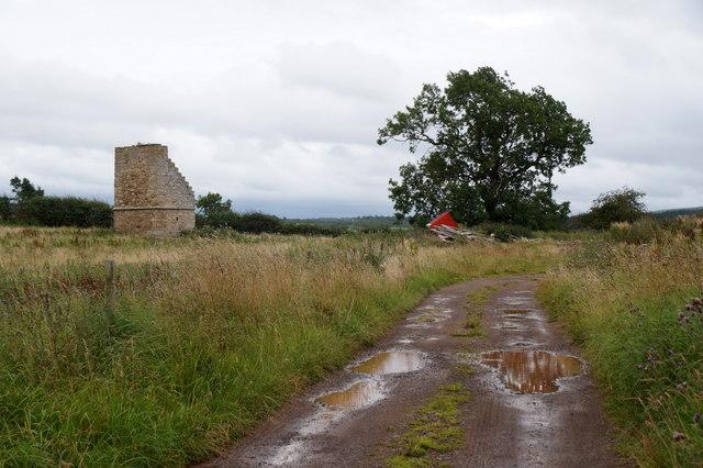 Doocot at Loquhariot, near Borthwick