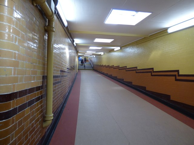 Underneath Deansgate station