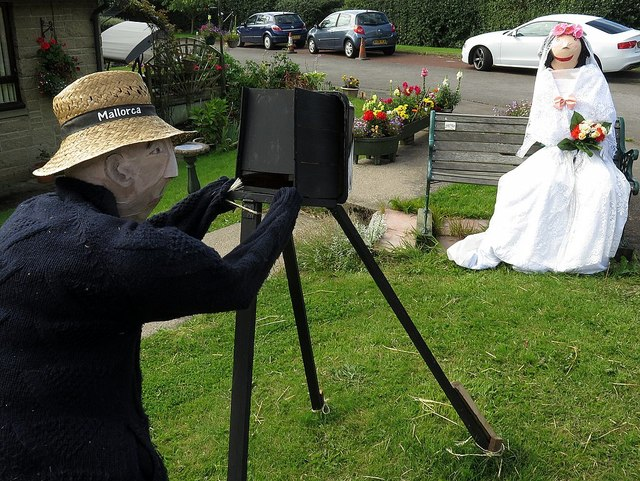 Scarecrow competition entry, Horsley
