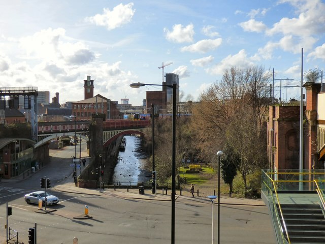Deansgate overview (west)
