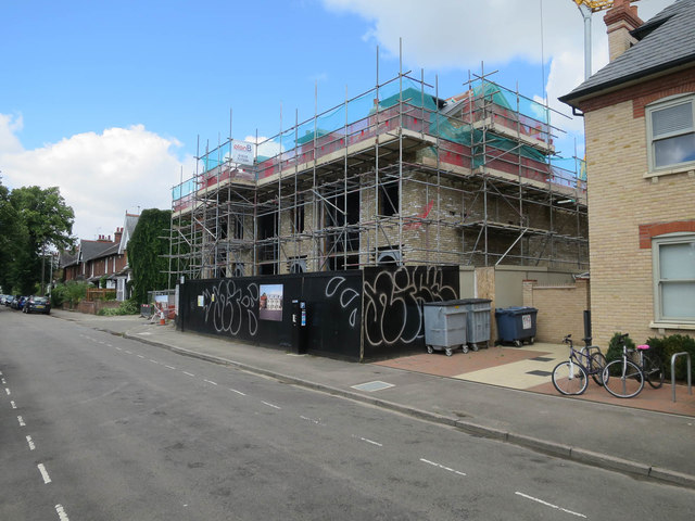 House building on Humberstone Road