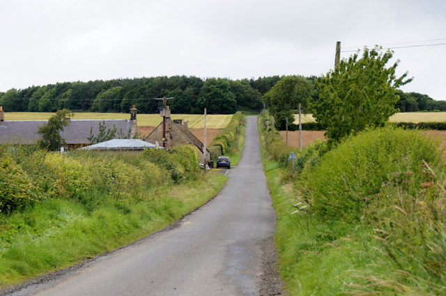 Road at Southside, between Mayfield and Pathhead