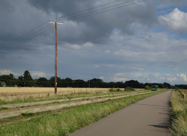 Guided busway to Histon