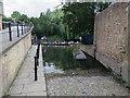 TL4458 : Public slipway by Garret Hostel Bridge by Hugh Venables
