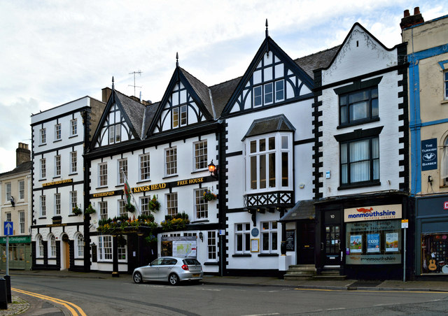 The King's Head Hotel, Monmouth