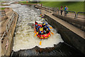 SK6139 : White water rafting by Richard Croft