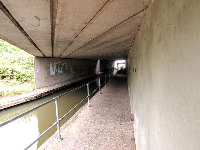 The M53 Bridge over the Shropshire Union Canal