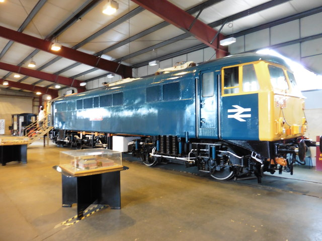 Inside the Exhibition Hall, Crewe Heritage Centre