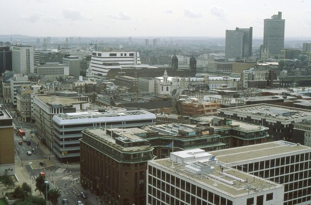 View from St Paul's Cathedral