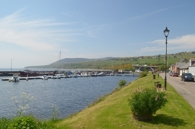 Helmsdale Harbour, Sutherland