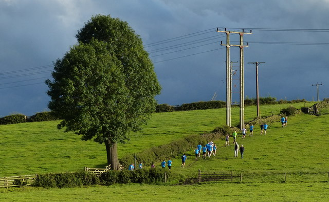 Runners near the Leeds and Liverpool Canal