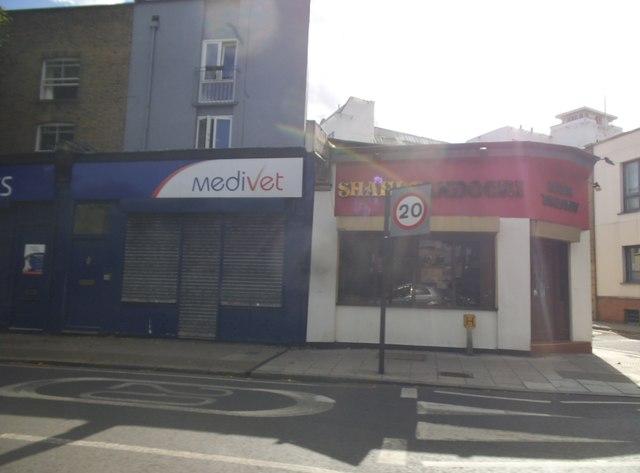 Shops on Grange Road, Bermondsey