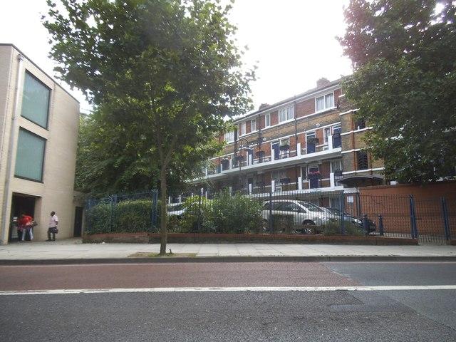 Flats on Jamaica Road, Bermondsey