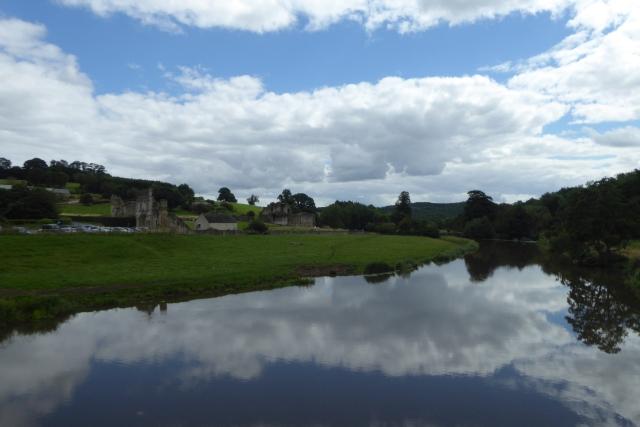 River Derwent and Kirkham Priory