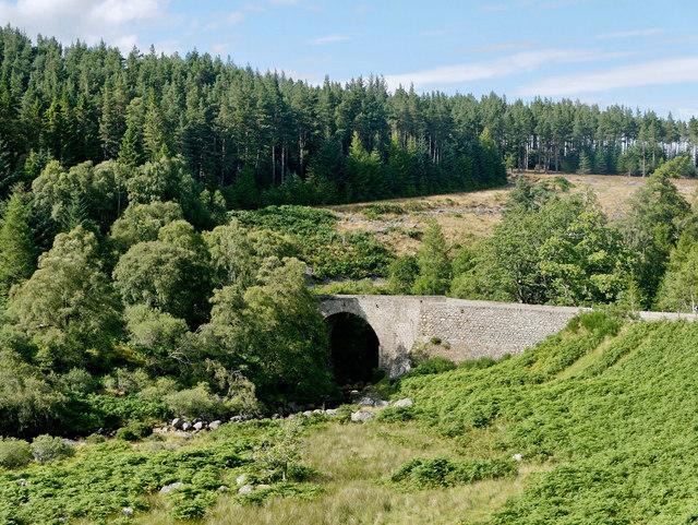 Bridge over the Easter Fearn Burn