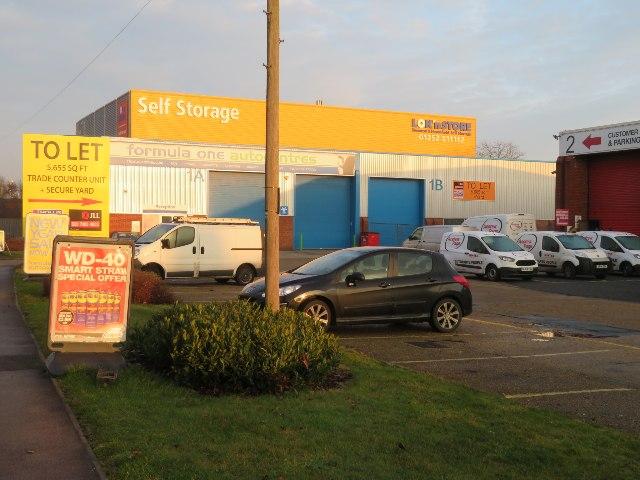 Self storage - Hawley Lane