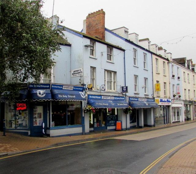 Jeffery's News in Ilfracombe