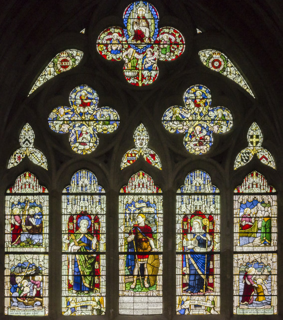Tanner memorial window, Exeter Cathedral