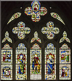 SX9292 : Tanner memorial window, Exeter Cathedral by Julian P Guffogg