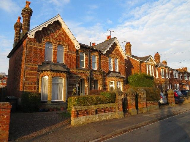 Houses in Burgess Road