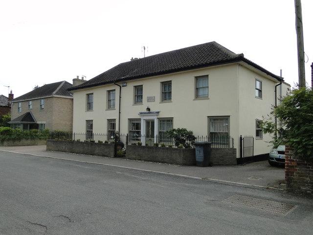 The old 'British Oak' public house, Bardolph Rd. Bungay