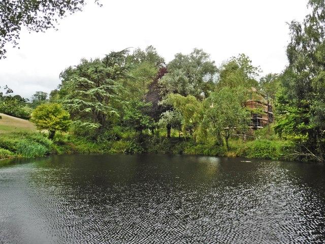 Ornamental Lake, Chevithorne