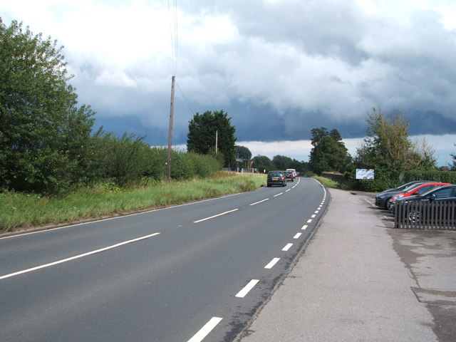 Roxwell Road (A1060) towards Chelmsford